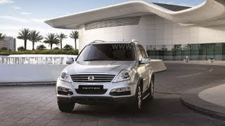 2012 Ssangyng Rexton SUV Exterios and Interiors Review and Walk Around