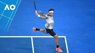 Federer V Nadal: Set 3 Highlights (Final)   Australian Open 2017