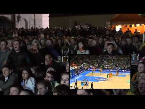 Macedonia vs. Lithuania 67:65 (14.09.2011) - the suffering of the Lithuanian fans!