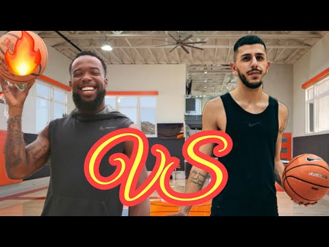 CASH vs BRAWADIS Basketball 1v1! **Heated Game** BLEEDGOLD17 REACT