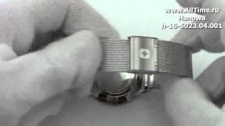 Обзор. Женские наручные швейцарские часы Hanowa h-16-5023.04.001