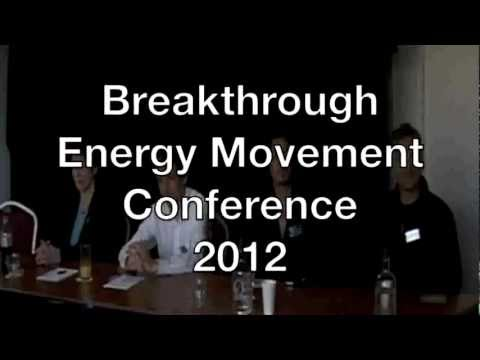 Press Conference @ The Breakthrough Energy Movement Conference, Holland 2012