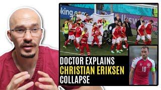 DOCTOR Explains CHRISTIAN ERIKSEN Collapse (Heart Disease)