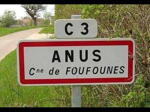 Nom des communes les plus drôles de France