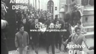 DiFilm - Funeral del dirigente gremial Augusto Timoteo Vandor 1969