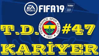 RÖVANŞ İNTİKAM GİBİ OLDU BE ! FIFA 19 KARİYER MODU #47