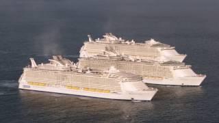 Die 3 größten Kreuzfahrtschiffe der Welt