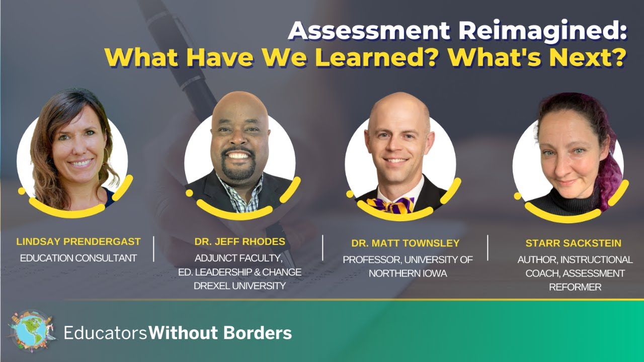 Panel Discussion: Assessment Reimagined - What's Next?