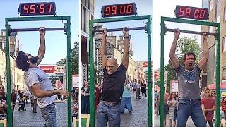 Se Riesci ad Appenderti alla Sbarra per 2 minuti, Vinci 100 €. 5 Pubblicità più Epiche di Sempre