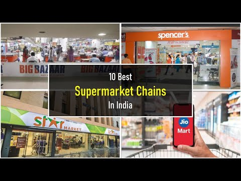 10 Best Supermarket Chains In India