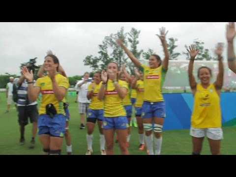 STYLISH Brazil beat Argentina | Olympic test event