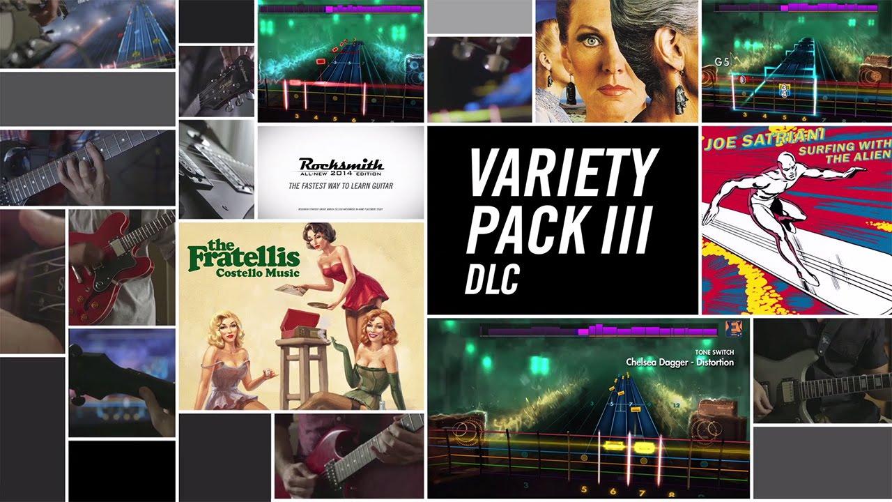 Rocksmith 2014 DLC –  Variety Pack III Maxresdefault