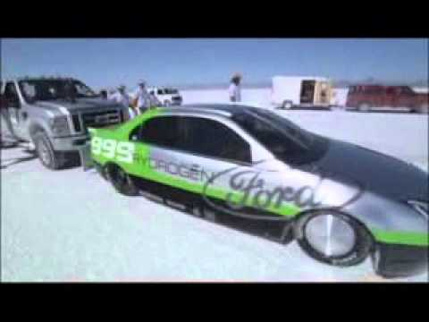 Ford Fusion Hydrogen 999 207 Mph World S Fastest Fuel Cell Car