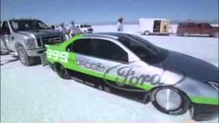 BMW Hydrogen Powered Salt Flat Racer Videos
