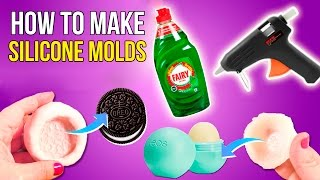 DIY SILICONE MOLDS * How to make a SILICONE MOLDS 💞