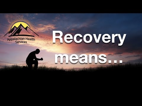 Recovery means...