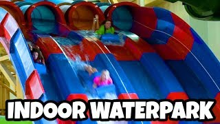 Indoor Water Park Challenge 2 (Great Wolf Lodge 2018) Totally TV