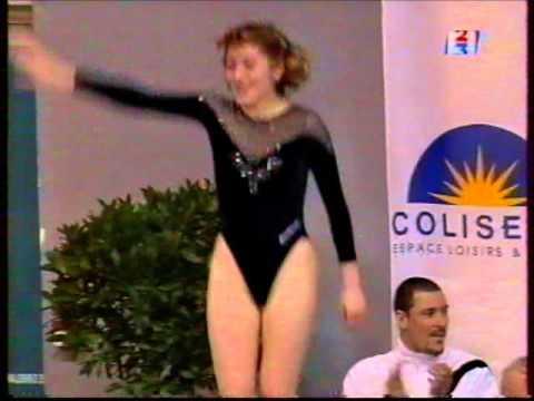 Irina KARAVAEVA (RUS) trampoline - 2001 Match France vs Russia