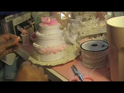Shabby Chic fake Cake from Liza's Craft Shop