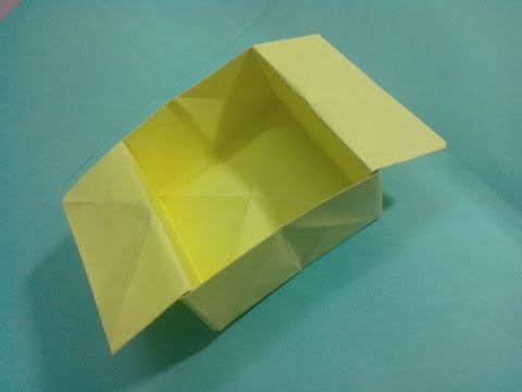 How To Make A Paper Folding Basket