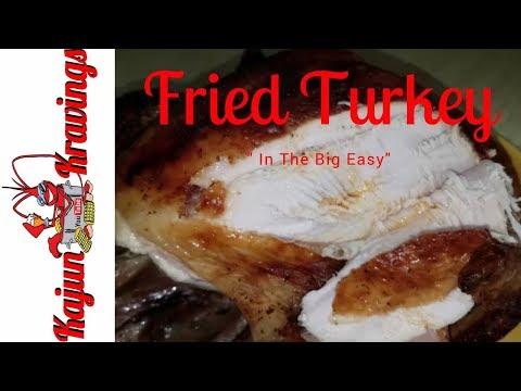 Fried Turkey With