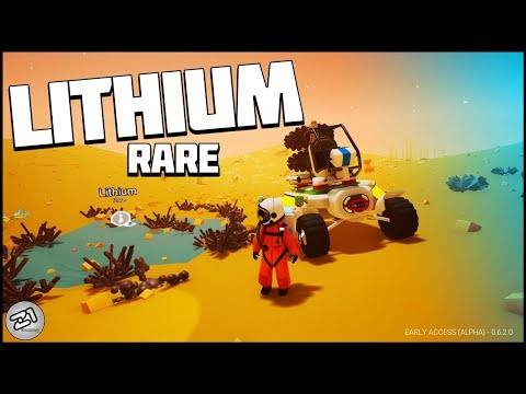 ALL The LITHIUM! Base Building, Cave Exploring and Spikey BALLS! Astronee Update | Z1 Gaming