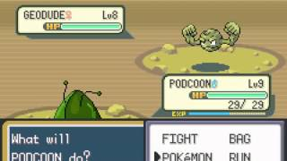 Pokemon Chaos Black - Pokemon Chaos Black part 3 (GBA) - Vizzed.com GamePlay (rom hack) - User video