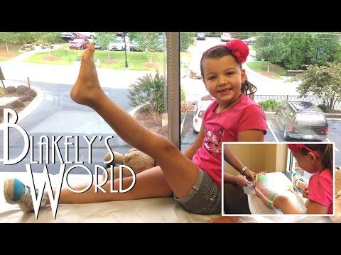 Blakely's Broken Leg | Cast Removal!