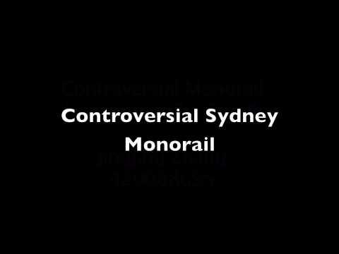 Radio News Report: Sydney Monorail