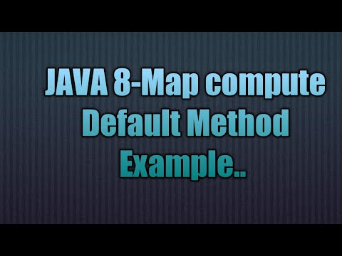 java map compute