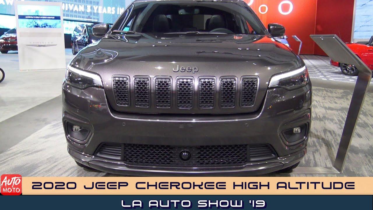 2020 Jeep Cherokee High Altitude 4x4 Exterior And Interior La Auto Show 2019 Youtube