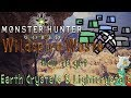 Monster Hunter World: Wildspire - Mining Guide! (How To Get Lightcrystals & Earth Crystals!)