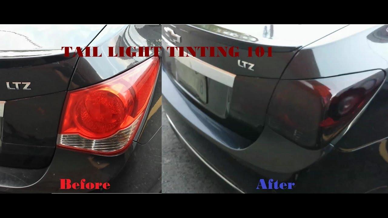Tail light tint Dark Smoke