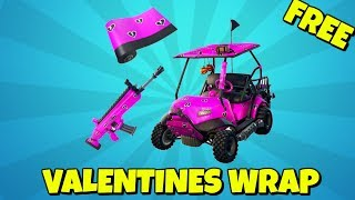 How to Get FREE VALENTINES WRAP in Fortnite