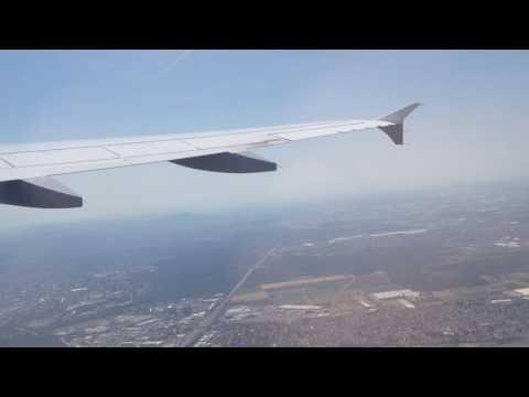 Takeoff Frankfurt runway 18 Lufthansa A320