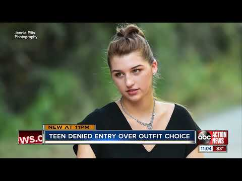 Chuck and Kelly - Teen Barred From Homecoming Dance Because of Pantsuit