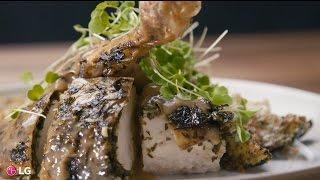 LG présente: Les bouchées de Chuck - Poulet cuit au four