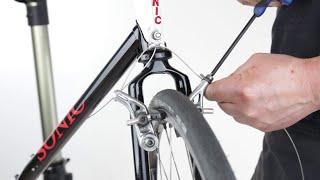 Set Up A Bike's Cantilever Wheel Rim Brake