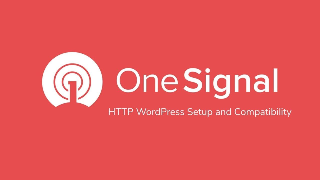 HTTP OneSignal-WordPress Setup