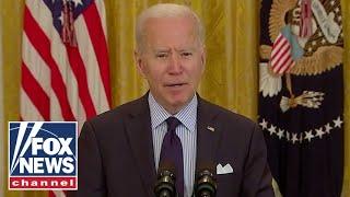 Fox News panel analyze Biden's 'spin' on low jobs report