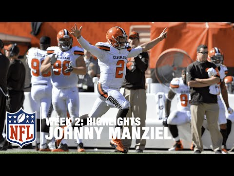 Johnny Manziel Highlights (Week 2) | Titans vs. Browns | NFL