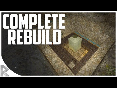 ANOTHER COMPLETE BASE REBUILD! - 7DTD Gameplay: WOTW Mod #25