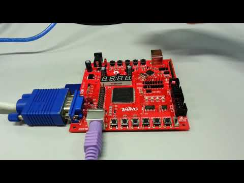The Thing Packs an STM32-Based Arduino and Cyclone II FPGA for VHDL