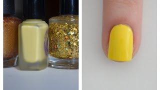 Yellow and Gold Nail Polish Favorites