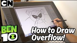 Ben 10 | How to Draw: OVERFLOW | Cartoon Network