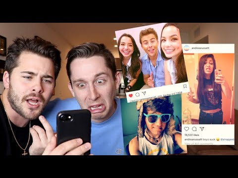 Roasting Our Friends First Instagram Pictures