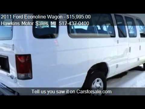 2011 Ford Econoline Wagon E350 Super Duty Wagon For Sale