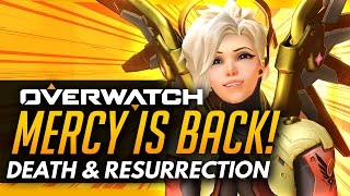 Overwatch | Mercy Is Back! - The Death and Resurrection!
