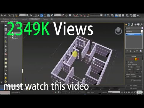 how to create autcad plan import with 3d max