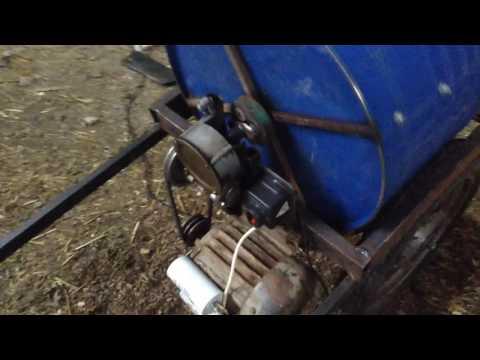 видео: Бетономешалка 220вольт